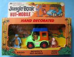Jungle Book Hut-mobile Playset - Disney - Multiple Toymakers - 1968 - Boxed