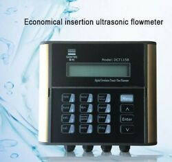 1.6mpa Ultrasonic Flow Meter 1000m3/h F/ Water Pipe Dn50-1200mm Insertion Type