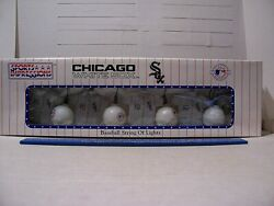 1992 Sports Impressions Chicago White Sox Baseball String Of Lights New