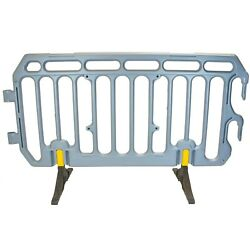 Crowd Control Barrier Plastic 2m Pedestrian Traffic And Event Management Barriers