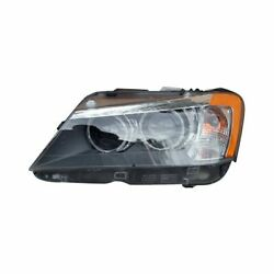 For Bmw X3 2011-2014 Replace Bm2502171 Driver Side Replacement Headlight