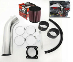 Kandn Filter With Generic Air Intake Kit For 2003-2006 Infiniti Fx35 With 3.5l V6