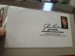 Gary Cooper First Day Of Issue Stamp Sealed
