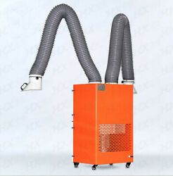 Portable Two-arm Welding Powder Mixing Applications Welding Fume Extractor 220v