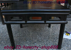 Old China Rosewood Wood Square Table Old-fashioned Square Table For Eight People