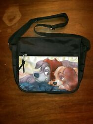 DISNEY Lady and The Tramp Hand SHOULDER BAG Cross Section Purse Messenger Girls $40.00