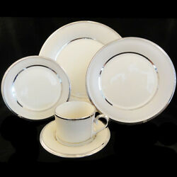 Ivory Frost By Lenox 5 Piece Place Setting Ivory China New Never Used Made Usa