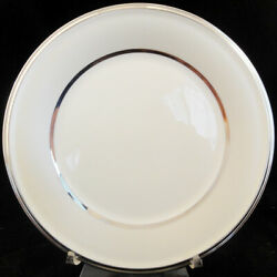 Ivory Frost By Lenox Dinner Plate 10.75 Ivory China New Never Used Made Usa