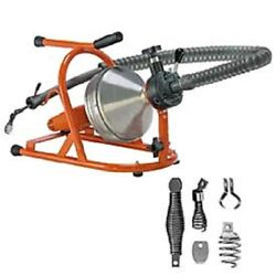 New Drain-rooter Ph Drain/sewer Cleaning Machine W/ 50and039 X 5/16 Cable And Cutter