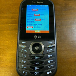 8 Used Lg Cosmo 3 Lg-vn251s Silver/gray Verizon Wireless Slider Cell Phones