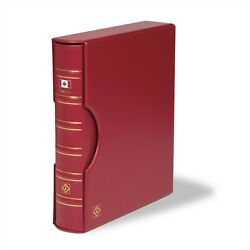 Lighthouse Grande Red Binder + Slipcase Canada Flag For Coins Stamps / Currency