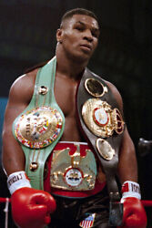 Mike Tyson Champ Boxer Art Wall Indoor Room Outdoor Poster POSTER 24x36