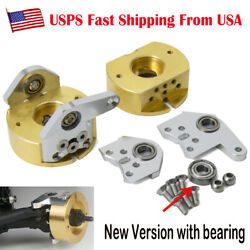 1pair Brass Steering Knuckles Weight For Axial Wraith 90018 1/10 Rc Crawler Us
