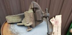 Antique Patented May 28 1867 By C.parker Co N0 40 1/2 Rare Coach Makers Vise