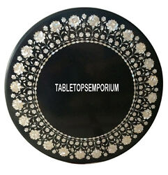 30 Marble Coffee Table Top Mother Of Pearl Inlay Pietra Dure Garden Decor Gifts
