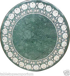 30x30 Marble Center Coffee Table Top Mother Of Pearl Inlay New Year Home Decor