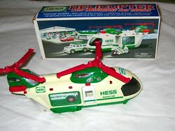 Quality Near To Mint - 2001 Hess Toy Truck Helicopter