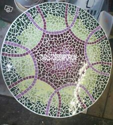 36 Marble Custom Table Top Mosaic Inlay Malachite Design New Year Decor Gifts