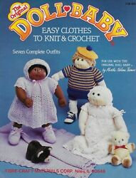 Doll Baby Vintage Crochet And Knitting Pattern Book