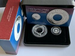2013 200th Anniversary Of The Holey Dollar And Dump Silver Proof Coin Set Rare