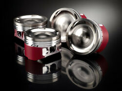 Bmw M3 3.2 E36 24v S50 S50b32 87mm Grpa 3 Ring Wossner Forged Piston Set