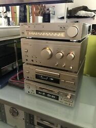 Sansui Vintage Mini System Champagne Gold. Made In Japan