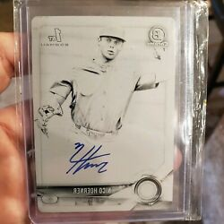 2018 Bowman Chrome Nico Hoerner Auto Printing Plate 1/1 Cubs Rookie Hot 🔥🔥🔥
