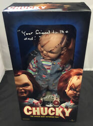 Sideshow Collectibles Universal Chucky Figure Signed By Brad Dourif With Coa