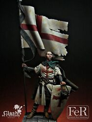 Templar Standard Bearer Acre Painted Toy Soldier Pre-sale | Museum Quality