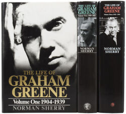 Norman Sherry / Life Of Graham Greene Volume One 1904-1939 Together Signed 1st
