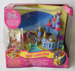 Vintage 1998 Mini Collection Beauty And The Beast Magical Castle Playset New