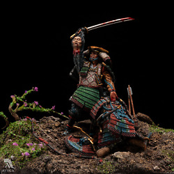 The Battle Of Samurai Warriors Tin Painted Toy Soldier Pre-sale | Art Quality