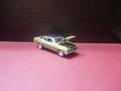 1970 Chevy Nova Ss Rally Wheels Rubber Tires Highly Detailed Loose 1/64 Die Cast