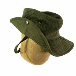 French Tropical Slouch Bush Hat Indochina Theatre Made