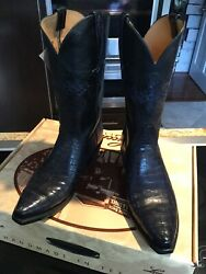 Lucchese Newclassic Limited Edition Nile Crocodile Boots M/8.5 D