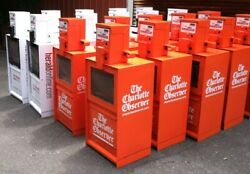 Newspaper Machines Custom Painted-your Color Choice Lot Of 6