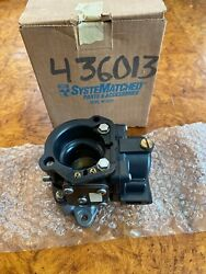 Nos Omc Johnson Evinrude 436013 Lower Carb Assembly