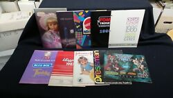 Eleven Vintage Toy Fair Catalogs- Tomy, Mattel, Mcfarlane Toys And More Lot B