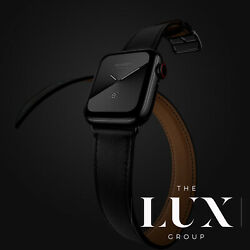 Apple Watch Hermandegraves Series 6 40mm Space Black Noir Single And Double Tour Lte Gps