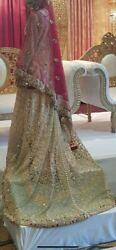 Latest Design Asian Wedding Dress Size 10 With Matching Jewellery