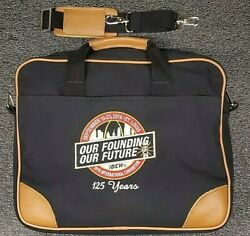Ibew Vintage Canvas Loptop Bag 17125 Years Anniversary 39th Int. Convention