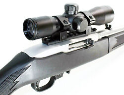 Trinity Replacement Scope 4x32 Black Aluminum With Base For Ruger 10-22 Rifle.