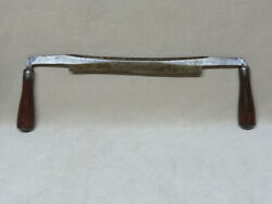 L And I J White Draw Shave Drawknife Knife Drawshave Edge Tool 10 Fine Condition