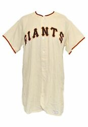 Willie Mays 1971 Authentic Game Model San Francisco Giants Uniform Jersey Pants