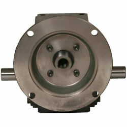 New Cast Iron Right Angle Worm Gear Reducer 301 Ratio 145t Frame