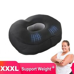 Latex Orthopedic Pillow With Post Natal Sciatica Round Large Size Seat Cushion
