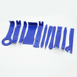 Car Panel Interior Trim Door Clip Audio Stereo Install Removal Pry Tool 11pc Kit