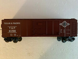 O Scale - Mth Railking 30-7413 Texas And Pacific Boxcar 41200 O602