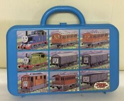 Vintage 1992 Thomas The Train Engine And Friends Storage Case Empty Fits 9 Toys