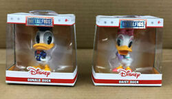 Jada Toys Disney Metalfigs Die Cast Collectibles - Donald And Daisy Duck Set